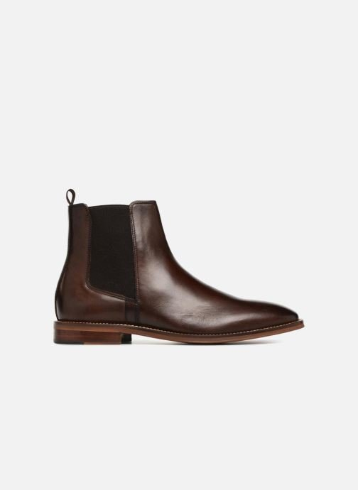 Ankle boots Marvin&co Raymond Brown back view