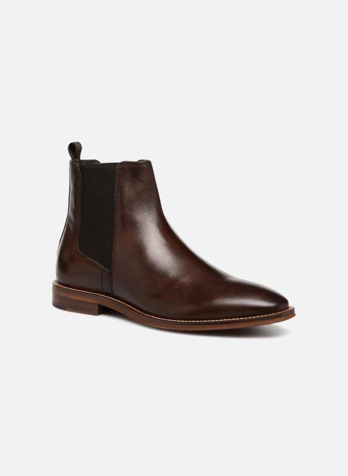 Bottines et boots Marvin&Co Raymond Marron vue détail/paire