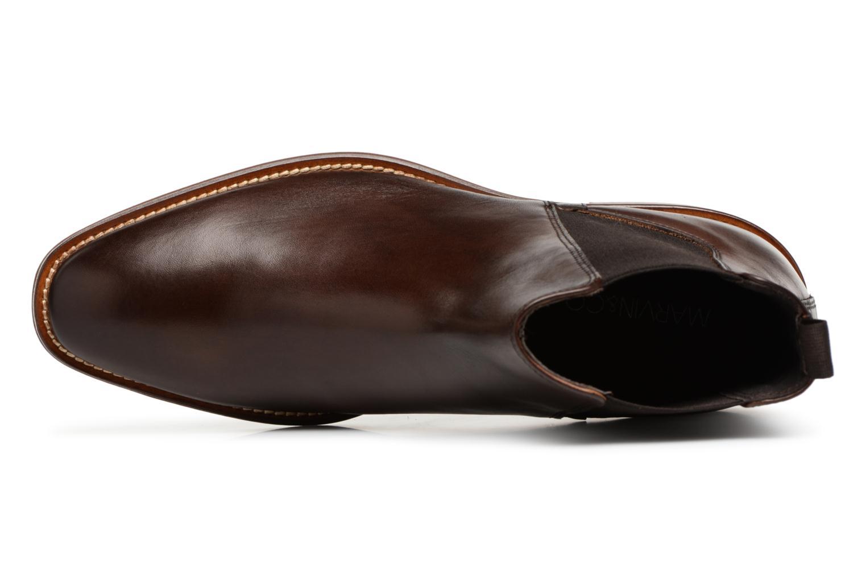 Bottines et boots Marvin&Co Raymond Marron vue gauche