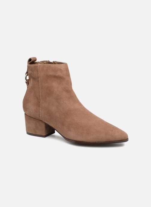 Boots en enkellaarsjes Steve Madden CLOVER Bruin detail