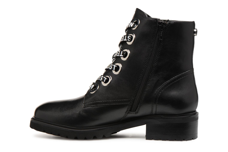 Bottines et boots Steve Madden LINDIA Noir vue face
