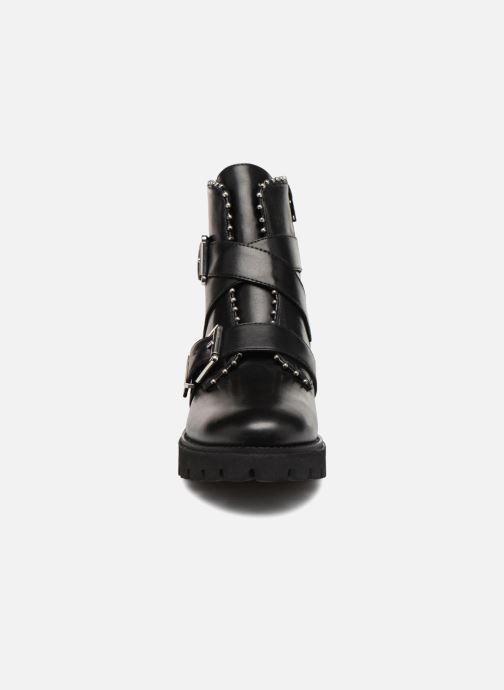 Bottines et boots Steve Madden HOOFY Noir vue portées chaussures