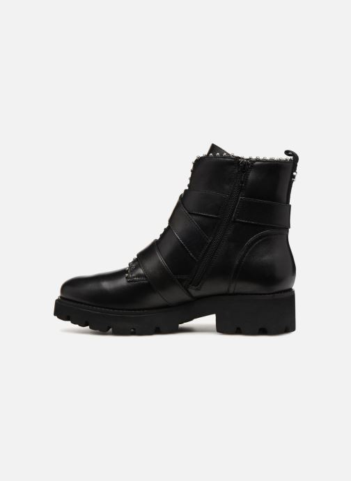 Bottines et boots Steve Madden HOOFY Noir vue face