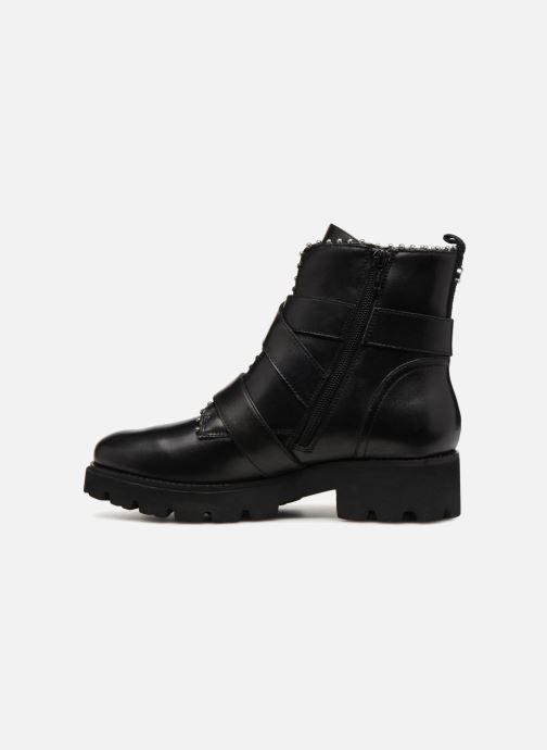 Boots en enkellaarsjes Steve Madden HOOFY Zwart voorkant