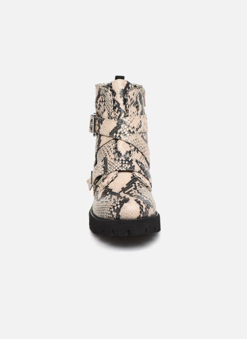 Stiefeletten & Boots Steve Madden HOOFY grau schuhe getragen