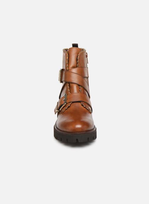 Stiefeletten & Boots Steve Madden HOOFY braun schuhe getragen
