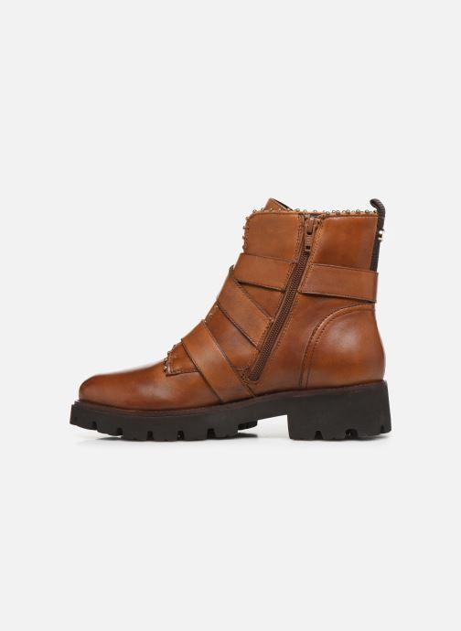 Boots en enkellaarsjes Steve Madden HOOFY Bruin voorkant