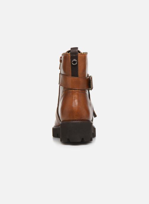 Stiefeletten & Boots Steve Madden HOOFY braun ansicht von rechts