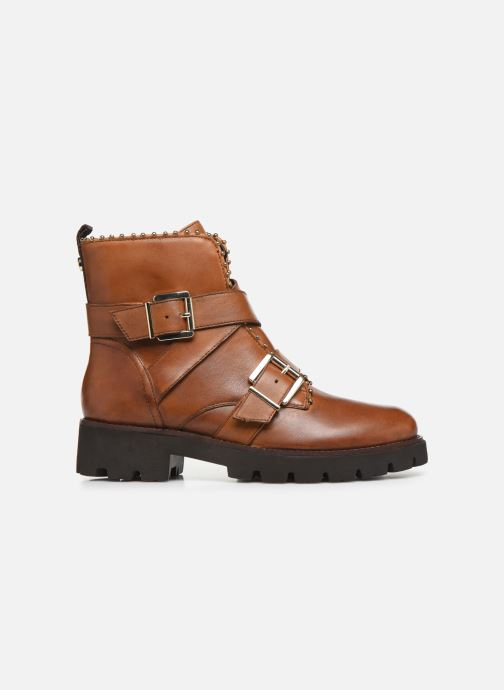 Boots en enkellaarsjes Steve Madden HOOFY Bruin achterkant