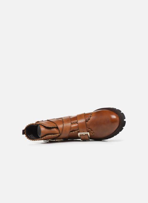 Stiefeletten & Boots Steve Madden HOOFY braun ansicht von links