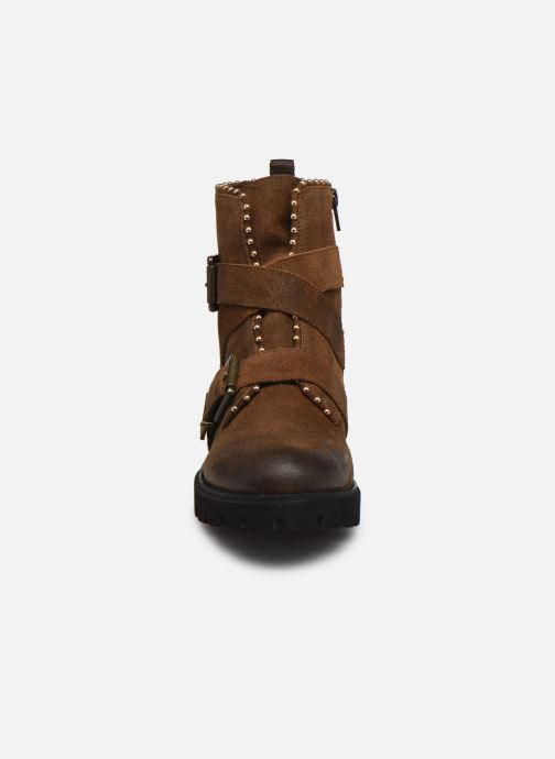 Boots en enkellaarsjes Steve Madden HOOFY Bruin model