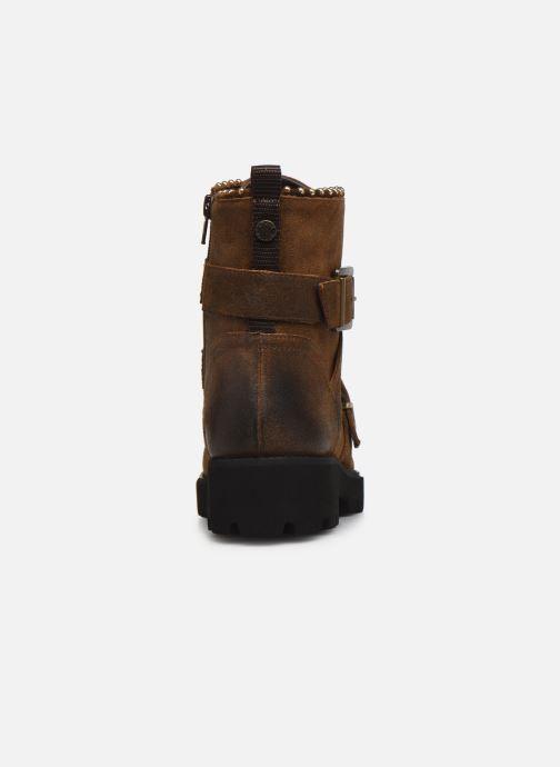 Boots en enkellaarsjes Steve Madden HOOFY Bruin rechts
