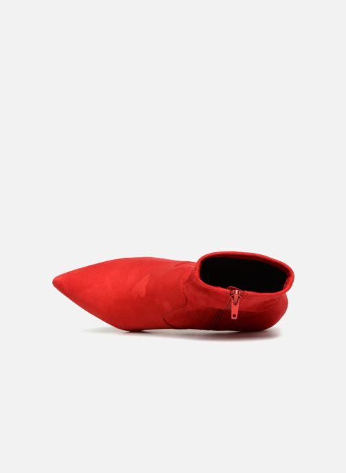 Boots en enkellaarsjes Steve Madden LAVA Rood links