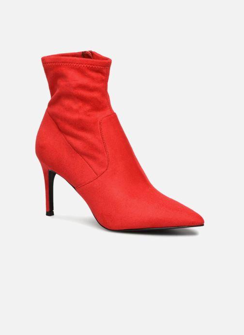 Bottines et boots Steve Madden LAVA Rouge vue détail/paire