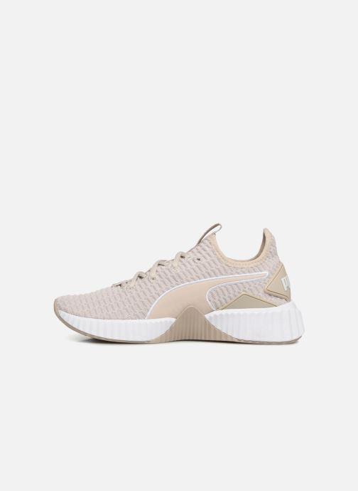 Sneakers Puma Defy Wns Beige voorkant