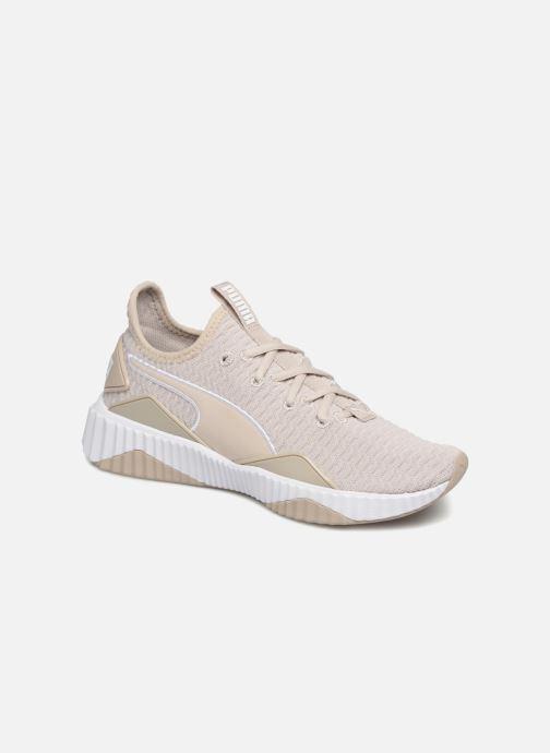 Baskets Puma Defy Wns Beige vue détail/paire