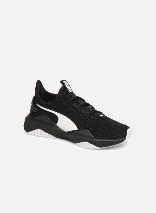Baskets Puma Defy Wns Noir vue détail/paire