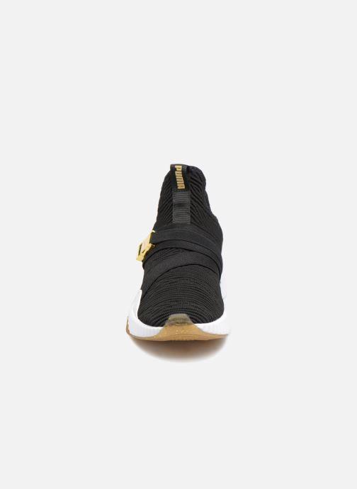 Baskets Puma Defy Mid Varsity Wns Noir vue portées chaussures
