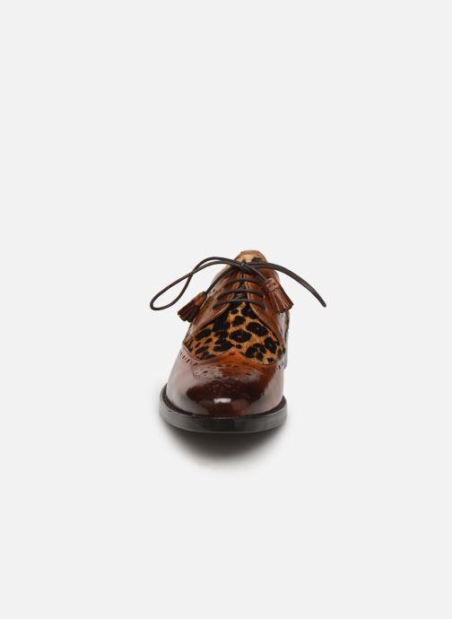 Zapatos con cordones Melvin & Hamilton Betty 3 Marrón vista del modelo