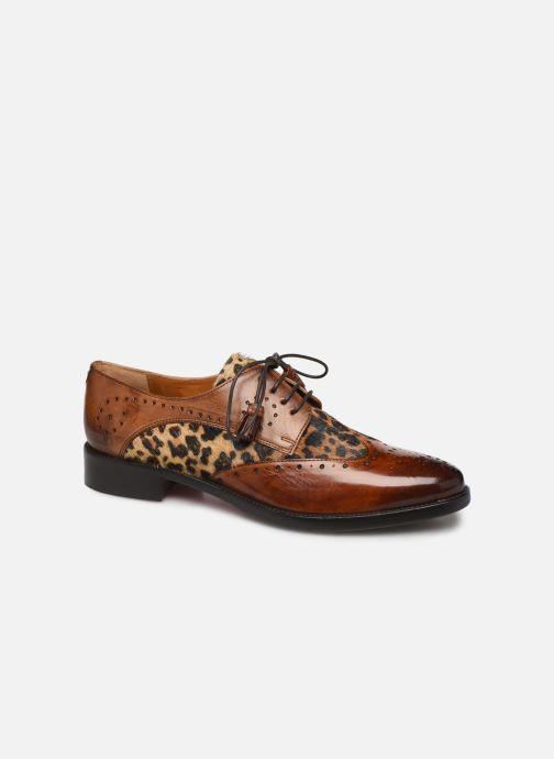 Zapatos con cordones Melvin & Hamilton Betty 3 Marrón vista de detalle / par