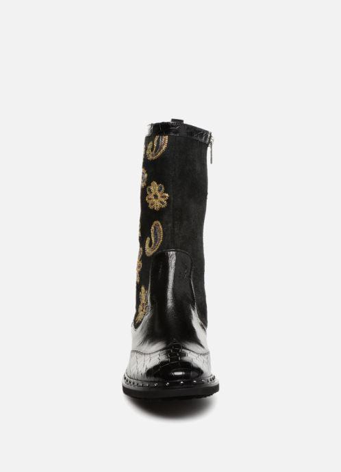 Bottes Melvin & Hamilton Amelie 39 Noir vue portées chaussures