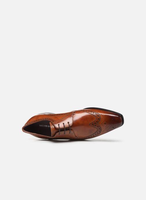 Scarpe con lacci Melvin & Hamilton Toni 31 Marrone immagine sinistra