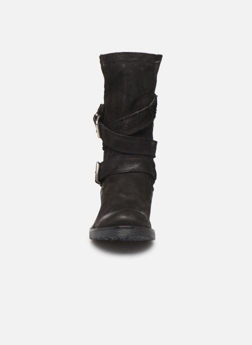 Boots & wellies Sweet Lemon L.23.REKIEM Black model view