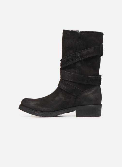 Boots & wellies Sweet Lemon L.23.REKIEM Black front view
