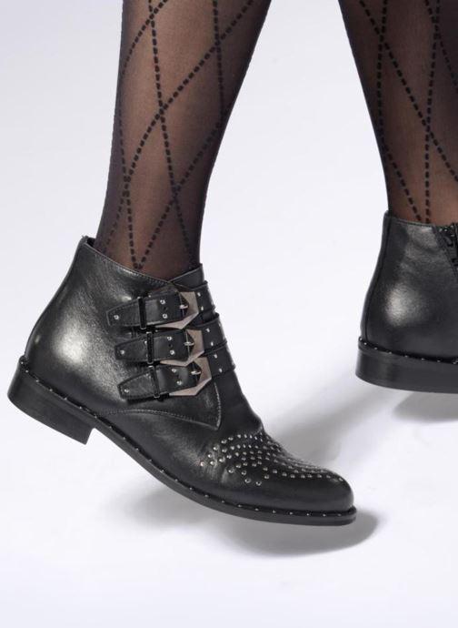 Bottines et boots Sweet Lemon L.5.ELUCY Noir vue bas / vue portée sac