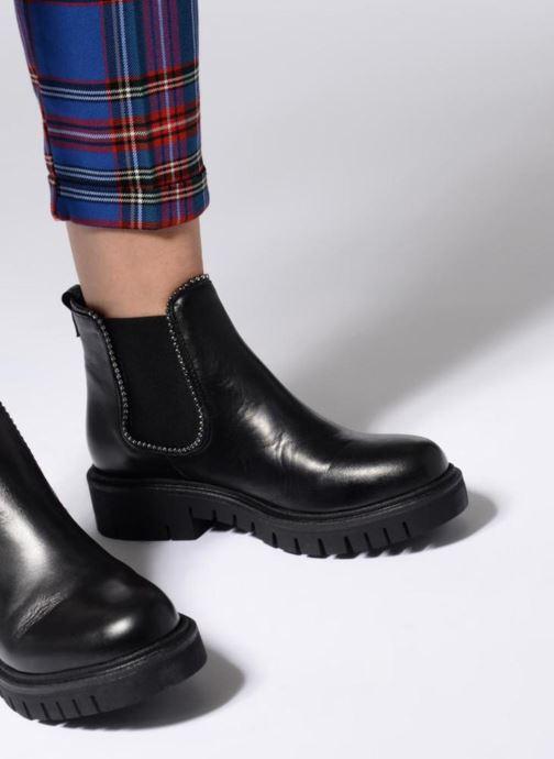 Bottines et boots Sweet Lemon L.38.OLANO Noir vue bas / vue portée sac