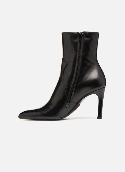 Bottines et boots Free Lance Forel 7 West Zip Boot Noir vue face