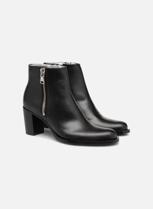 Bottines et boots Free Lance Rainbow 7 Big Zip Boot Noir vue 3/4