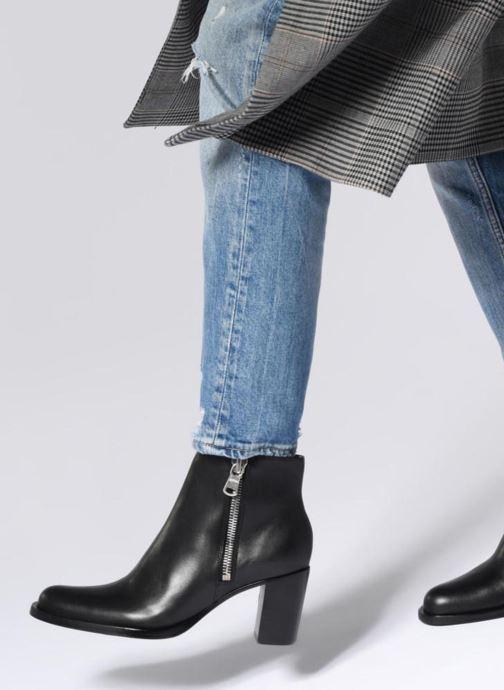 Bottines et boots Free Lance Rainbow 7 Big Zip Boot Noir vue bas / vue portée sac