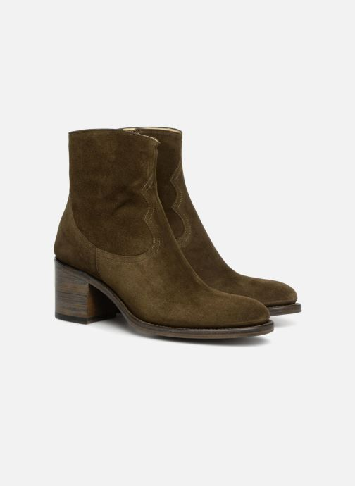 Ankle boots Free Lance Mansory 7 West Zip Boot Green 3/4 view