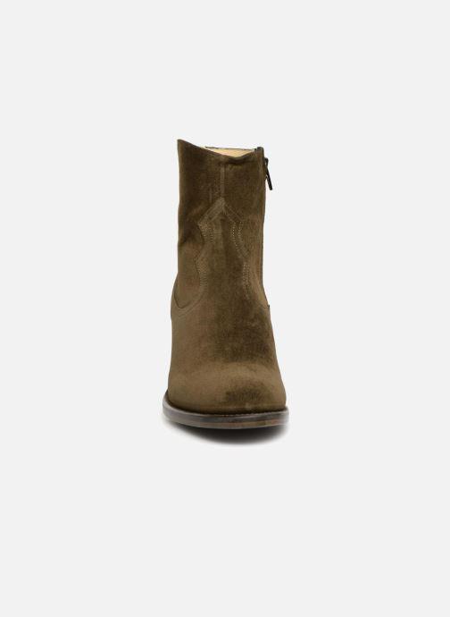 Bottines et boots Free Lance Mansory 7 West Zip Boot Vert vue portées chaussures