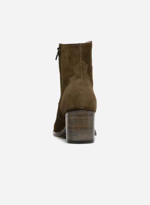 Bottines et boots Free Lance Mansory 7 West Zip Boot Vert vue droite