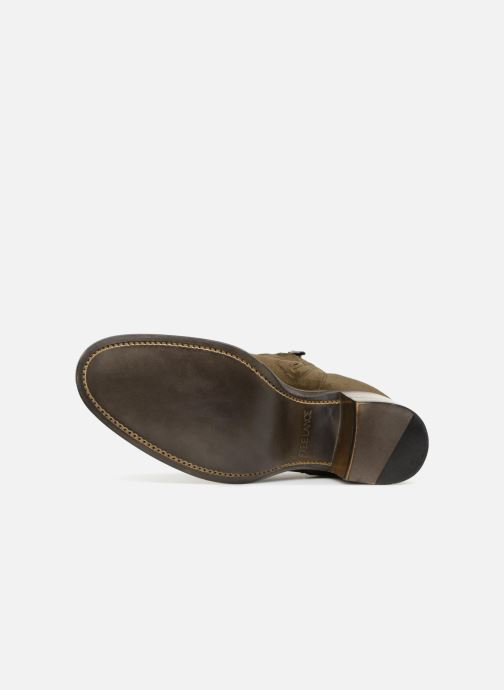 Bottines et boots Free Lance Mansory 7 West Zip Boot Vert vue haut