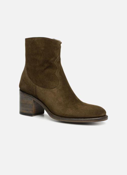 Bottines et boots Free Lance Mansory 7 West Zip Boot Vert vue détail/paire