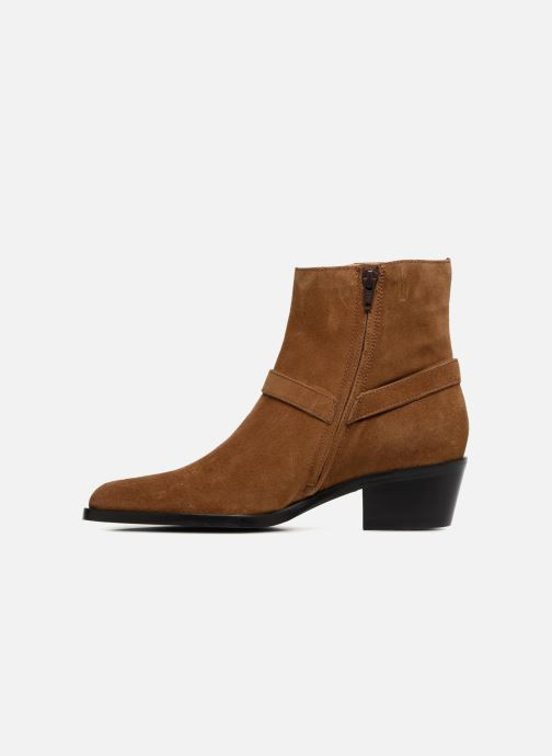Bottines et boots Free Lance Jane 5 Harnais Zip Boot Marron vue face
