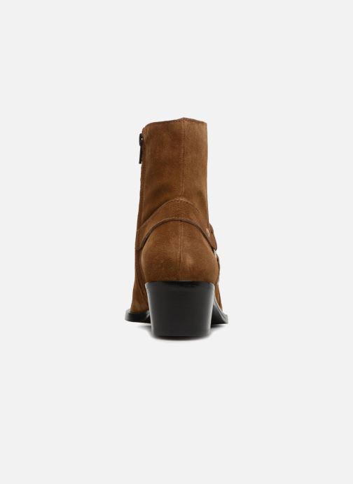 Bottines et boots Free Lance Jane 5 Harnais Zip Boot Marron vue droite