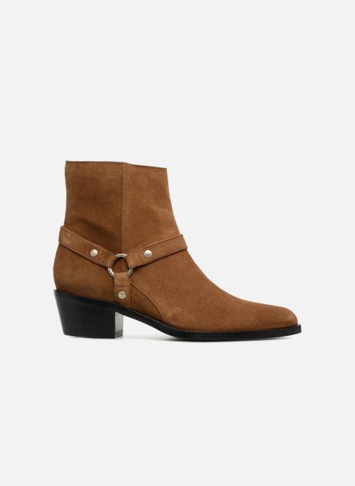 Bottines et boots Free Lance Jane 5 Harnais Zip Boot Marron vue derrière