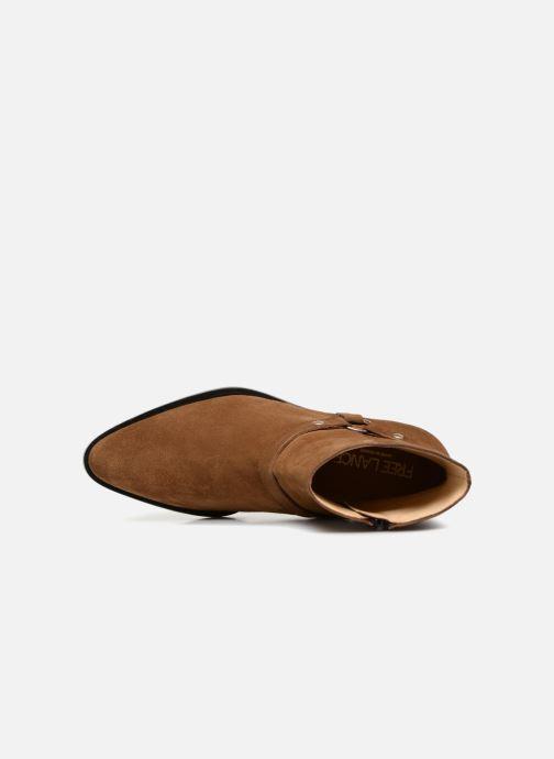 Lance Bottines Chez Harnais Jane 336248 Zip marron 5 Boots Boot Free Et dagqd
