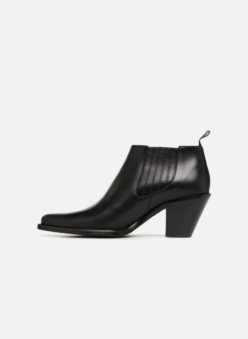 Bottines et boots Free Lance Jane 7 Low Chelsea Boot Noir vue face