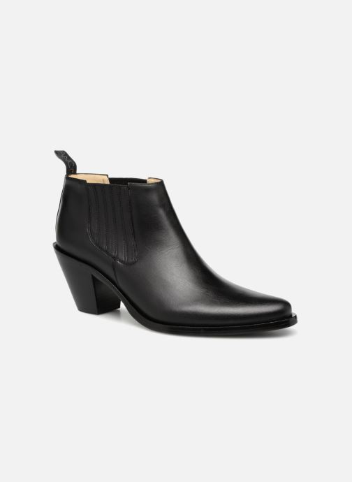 Bottines et boots Free Lance Jane 7 Low Chelsea Boot Noir vue détail/paire