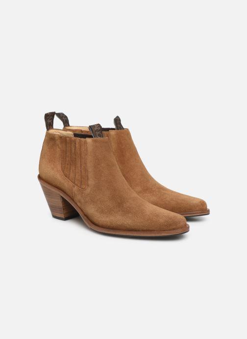 Bottines et boots Free Lance Jane 7 Low Chelsea Boot Marron vue 3/4