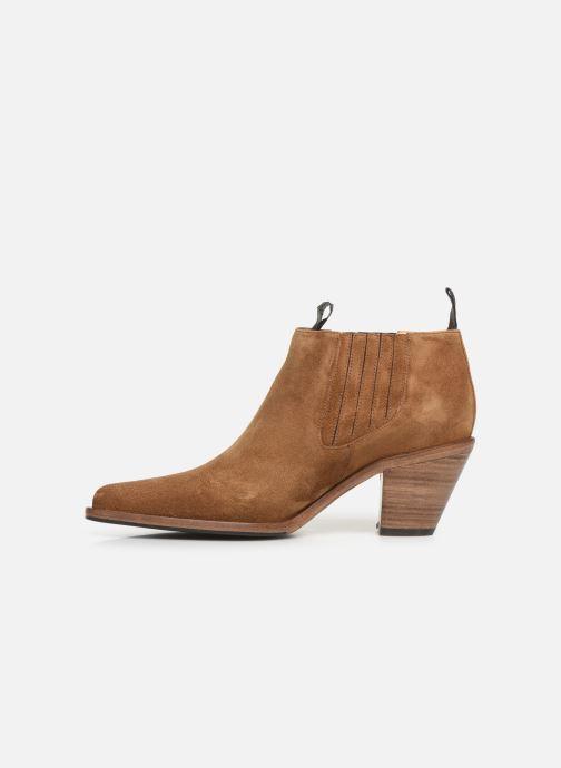 Boots en enkellaarsjes Free Lance Jane 7 Low Chelsea Boot Bruin voorkant
