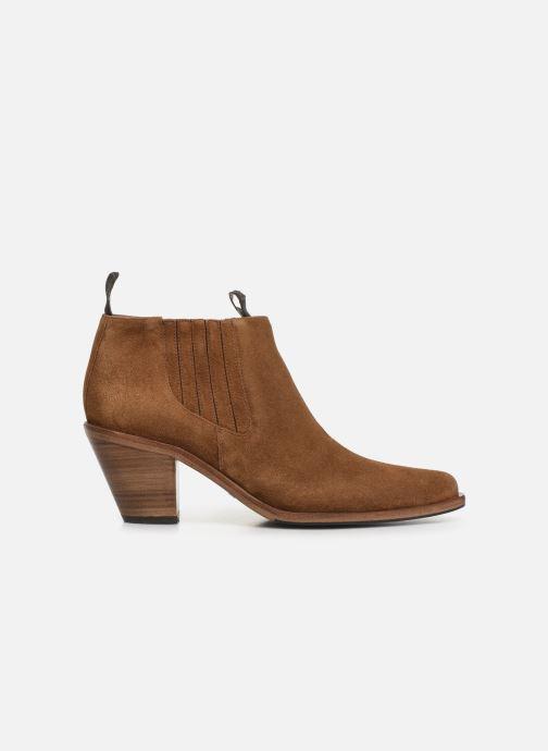 Bottines et boots Free Lance Jane 7 Low Chelsea Boot Marron vue derrière