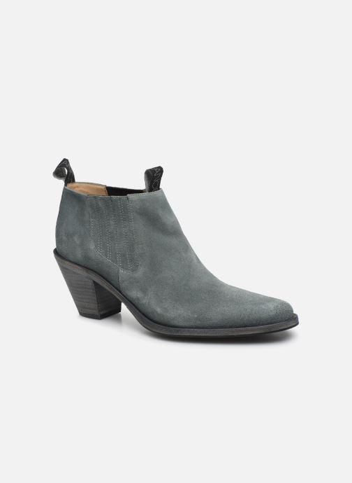 Bottines et boots Free Lance Jane 7 Low Chelsea Boot Bleu vue détail/paire