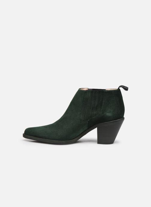 Bottines et boots Free Lance Jane 7 Low Chelsea Boot Vert vue face