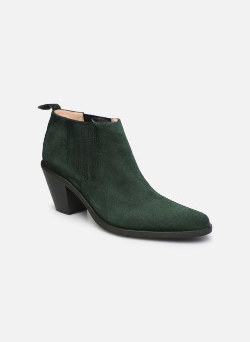 Bottines et boots Free Lance Jane 7 Low Chelsea Boot Vert vue détail/paire